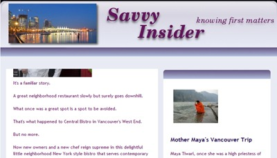 Mother's Interview on Savvy Insider