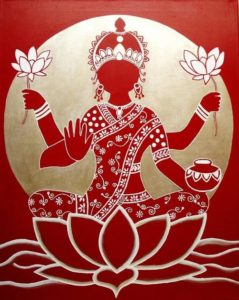 Goddess Lakshmi-Give rof Prosperity, Love, Health